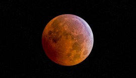 Supermoon blood lunar eclipse
