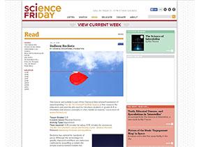 Science Friday screenshot